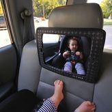 JJ Cole 2-in-1 Car Back Seat Mirror