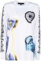 Proenza Schouler Proenza Longsleeve Printed T-shirt