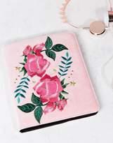 Skinnydip Rose Embroidered iPad Case