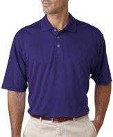 UltraClub Men's Cool & Dry 100% Polyester Short Sleeve Mesh Performance Polo Sport Shirt - 8405 5XL