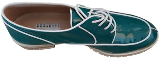 Fratelli Rossetti Turquoise Patent leather Lace ups