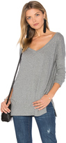 Bobi Light Weight Jersey V Neck Tunic