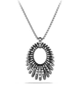 David Yurman Tempo Necklace with Diamonds