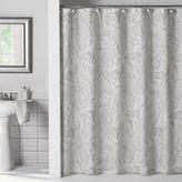 Flatiron Linen Paisley Shower Curtain