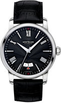 Montblanc Men's Swiss Automatic 4810 Black Alligator Leather Strap Watch 42mm 115122
