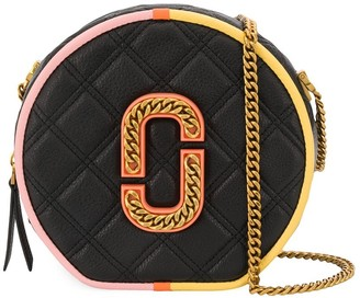 Marc Jacobs The Colorblocked Status round crossbody bag