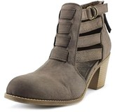Roxy Mischa Women Round Toe Synthetic Brown Ankle Boot.