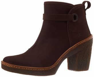 El Naturalista Women's N5179 Pleasant Brown/Haya Ankle Boot 4.5 UK