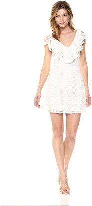 French Connection Women's Massey LACE Sleeveless Dress