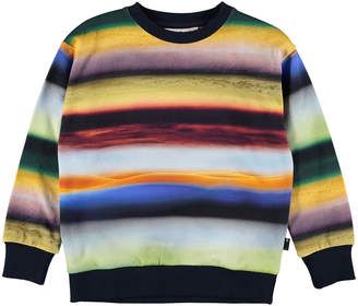 Molo Madsim Rings of Saturn Print Sweatshirt, Size 4-12