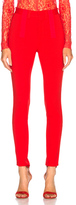 Givenchy High Waisted Leggings in Red.