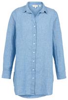 Fat Face Longline Linen Shirt