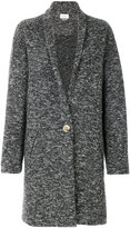 Etoile Isabel Marant one button coat - women - Cotton/Polyester/Alpaca/Virgin Wool - 36