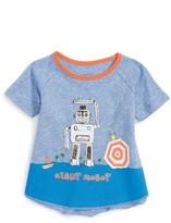 Infant Boy's Egg By Susan Lazar Joshua Giant Robot T-Shirt