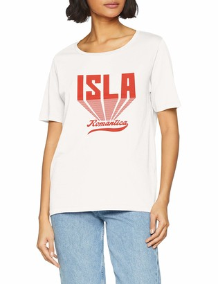 Scotch & Soda Maison Women's Relaxed Fit Tee with Various Artworks T-Shirt