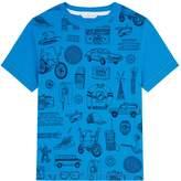 Marc Jacobs Cotton Logo Illustration T-Shirt