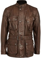 Belstaff Panther Brown Leather Jacket
