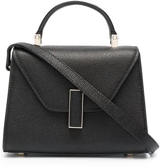 Valextra Pebbled Leather Cross Body Bag