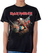 Global Iron Maiden - Mens The Trooper T-shirt Small Black