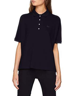Lacoste Women's Pf0103 Polo Shirt, (Navy Blue 166)
