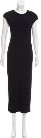 Alexander McQueen Matelassé Sleeveless Dress