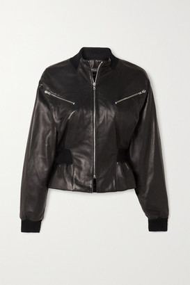Isabel Marant Xabia Leather Jacket - Black