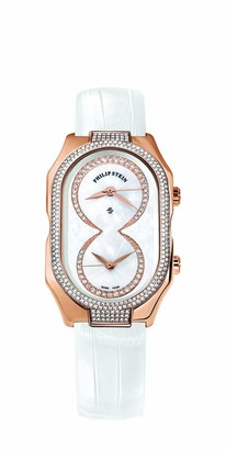 Philip Stein Teslar 11dprg-idwLadies WatchAnalogue QuartzMother of Pearl DialWhite Leather Bracelet