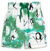 Vilebrequin Boy's Happy Penguin Swim Trunks