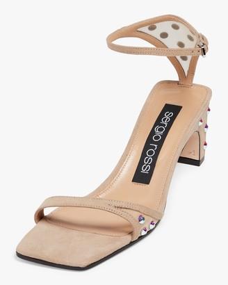 Sergio Rossi Studded Sandal