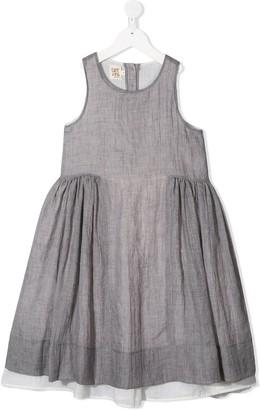 Caffe' D'orzo Carlotta flared dress