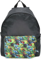 fe-fe tropical print backpack - unisex - Nylon - One Size