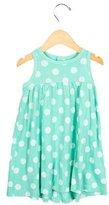 Petit Bateau Girls' Sleeveless Polka Dot Dress