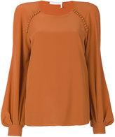 Chloé bell sleeved blouse - women - Silk - 38