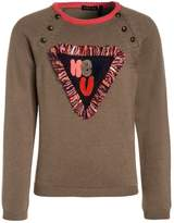 Ikks CITY COULEUR BLOCK Jumper taupe