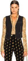 Chloé Contrast Stitching Vest