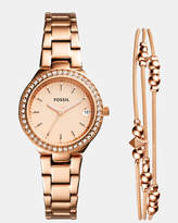Fossil Blane Rose Gold-Tone Analogue Watch