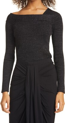 Donna Karan Asymmetrical Sweater