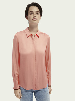 Scotch & Soda Regular fit long sleeve shirt | Women