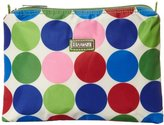Hadaki Nylon Zip Carry All Pod Small Cosmetic Bag