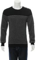 Balmain Striped Pullover Sweater