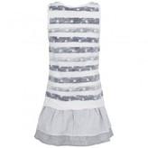 Ikks Navy & White Tank Dress