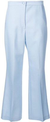 PARTOW Cropped Flared Trousers