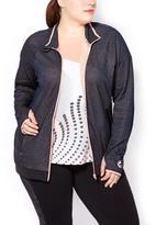 Penningtons Essentials - Plus-Size Textured Jacket