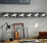 Pottery Barn Horse Zoetrope Wall Art