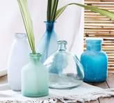 Pottery Barn Sea Glass Vases