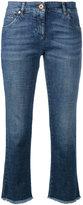 Brunello Cucinelli straight cropped jeans - women - Cotton/Spandex/Elastane - 42