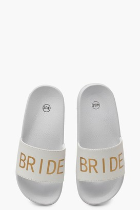 boohoo Bride Slogan Slides