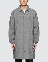 10.Deep Streeters Trench Flannel