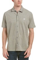 Canali Short Sleeve Button Down Shirt.