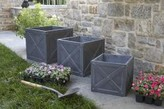 The Well Appointed House X-Cube Garden Planter-Set of Three